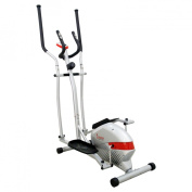 Sunny Health and Fitness SF-E3416 Magnetic Elliptical Trainer - Silver