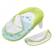 Summer Infant Baby Bath Sling with Warming Wings - Blue