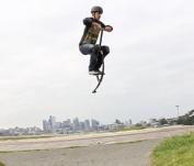 Jumparoo JACK HAMMER Extreme Pogo Jumper by Air Kicks, SMALL 50-70kg.