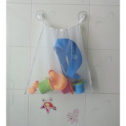 Bath Toy Mesh Bag Organiser for Baby Bath Toys with 2 Suction Cups