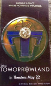Tomorrowland PIN Disneyland Passholder Movie Preview Exclusive