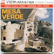 Classic ViewMaster - United States Travel - Mesa Verde National Park - ViewMaster Reels 3D - unsold store stock - Never opened