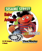 ViewMaster Sesame Street Baby Animals View-Master 3 Reel Set - 21 3D Images