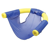 100cm Blue Noodle Sling Floating Seat Swimming Pool Accessory