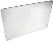 Pkg (3) Plastic Mirrors with Rounded Corners 7.6cm - 2.4cm x 13cm - 2.4cm Great for Classroom Activities