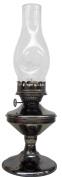 V & O 910-99900 43cm Pewter Solid Pewter Oil Lamp