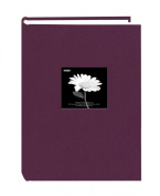 Pioneer 300 Pocket Fabric Frame Cover Photo Album, Wildberry Purple up to 10cm X 15cm