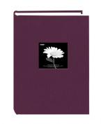 Pioneer 300 Pocket Fabric Frame Cover Photo Album, Wildberry Purple up to 10cm X 15cm