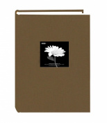 Pioneer 300 Pocket Fabric Frame Cover Photo Album, Warm Mocha