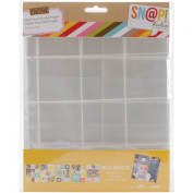 Simple Stories Snatp! Insta Pocket Pages for 15cm by 20cm Binders Variety Pack, 10-Pack