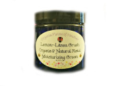 Organic Facial Moisturiser - All Natural Non-GMO Face Cream - NOW 120ml! - Light & Natural Lemon Litsea Crush Scent - ORGANIC INGREDIENTS - Anti-Ageing - For Women or Men - Will not dry out your skin or leave a long lasting oily residue. Will heal your ..