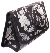 Cosmetic Bag with a Mirror, Cotton Fabric, Small Size