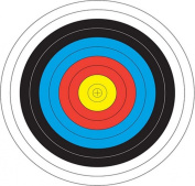 "Best-selling Archery Paper Target For Shooting Bullseye Archery Target 36×36cm/14×14""-10 Pcs"