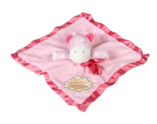 Sweet Little Darling Plush Baby Toddler Security Blanket - Pink Girl