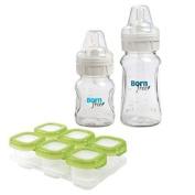 Born Free BPA-Free Glass Bottle 150ml & 270ml Twin Pack with Freezer Storage