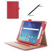 ProCase Samsung Galaxy Tab A 8.0 Case - Standing Cover Folio Case for 7627.6lxy Tab A Tablet (20cm , SM-T350 P350), with Multiple Viewing angles, auto Sleep/Wake, Document Card Pocket