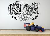 Wall Room Decor Art Vinyl Sticker Mural Decal Anthony Graffiti Name Nursery Boy Cool AS1867