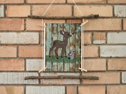 Woodland Collection, 9 x 11.5 Nursery Wall Art Decor, Kid's Art Decor, Gender Neutral Nursery, Nature Themed, , Deer, Woodland Nursery,