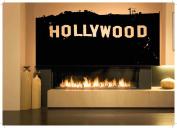 Wall Room Decor Art Vinyl Sticker Mural Decal Hollywood Hills California Sign AS1834