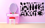 Wall Room Decor Art Vinyl Sticker Mural Decal Fairy Tale Action Figure AS1832