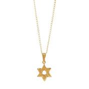Elegant Baby 14 Karat Gold Baby Shower or 1st Birthday Gift Star of David Necklace in Gold