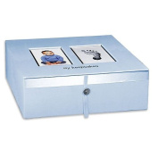 Baby Imprints Keepsake Box - Blue
