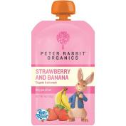 Peter Rabbit Organics - Organic Fruit Snack 100% Pure Strawberry and Banana - 120ml
