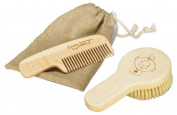 Ore Originals Peek A Boo Comb and Brush Set