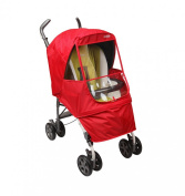 Manito Elegance Alpha Stroller Weather Shield / Rain Cover - Red