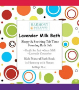 Lavender Milk Bath - Best Kids Bath Salt - Sleepy & Soothing Tub Time Foaming Bath Salt