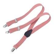 Clips N Grips Child Baby Toddler Adjustable Elastic Solid Colour Y Back Suspenders