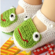 Baby Newborn Infant Girls Crochet Knit Socks Sandals Toddler Shoes Prewalker