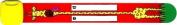 Infoband Child Safety ID Wristband-- Red Giraffe