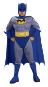 Batman Deluxe Muscle Chest Batman Child's Costume, Large
