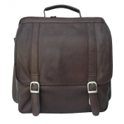 Piel Leather Vertical Computer Backpack