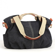 Eshow Women's Casual Canvas Everyday Purse Hobo Shoulder Bag