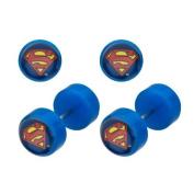 DC Comics Superman Classic Logo Faux 18g Plugs