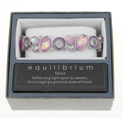 Equilibrium Silver Bracelet with Lilac Moonstones JD 54500
