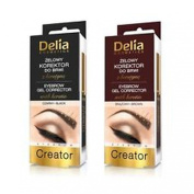 Delia Eyebrow Gel Corrector with Ceratin Brown 7ml