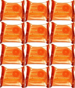 Skin Deep Self Tanning Wipes 20 Wipes x 12 Packs