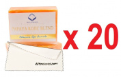 (Pack of 20)Relumins Triple Papaya Kojic Whitening Bar soap