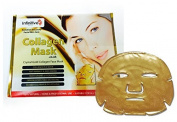 5 x New Infinitive Beauty Crystal 24K Gold Powder Gel Collagen Face Mask Masks Sheet Patch, Anti Ageing Ageing, Skincare, Anti Wrinkle, Moisturising, Moisture, Hydrating, Uplifting, Whitening, Remove Blemishes & Blackheads Product. Firmer, Smoother, To ..