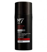 Boots No7 MEN Protect & Perfect Intense ADVANCED Serum ANTI-AGEING Sensitive 30ml-Targets Deep Lines and Wrinkles. FOR YOUNGER LOOKING SKIN IN JUST 2 WEEKS