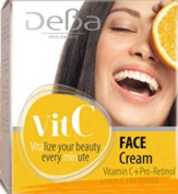 Deba Skin Care with Vitamin C Day Rich Formula Cream