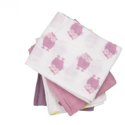 Pippi Baby Girls Nappies AO Printed 8 Pack Scarf