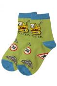 Weri Spezials Baby and Kids Bulldozer Socks