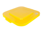 Rubbermaid Brute Snap On Lid - Yellow