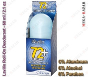 LAVILIN DEODORANT ROLL-ON 72+ HOURS BLUE NEW by HLAVIN