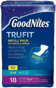 Goodnites Tru-Fit Disposable Inserts Underwear - Small/Medium - 18 ct