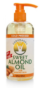 GURUNANDA Sweet Almond Oil, 100% Pure and Natural, 8 fl. oz.